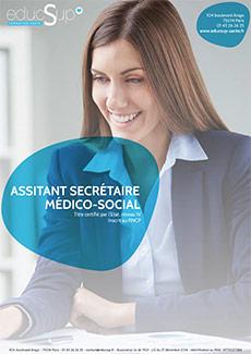 Téléchargez la Plaquette Assistante Secrétaire Médico-Sociale